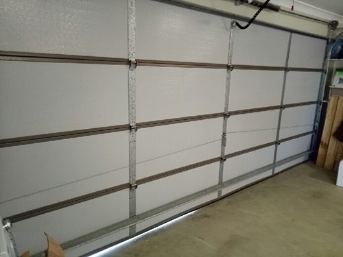 Home kooldoor garage door insulation